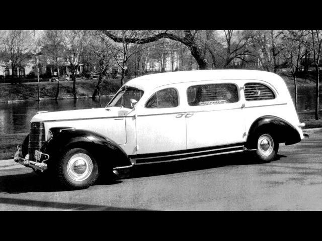 Studebaker President Arlington Funeral Car by Bender '1938