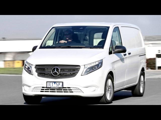 Mercedes Benz Vito 119 BlueTEC Van AU spec W447 '2015–