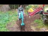 мини-экскаватор Kobelco SK005 Mini (micro) excavator – escavatore– bagger – pelle – micro shovel