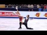 Танцы нальду. Произвольная программа. Чемпионат Европы пофигурному катанию 201...
