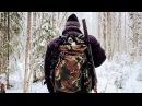 Сказочная тайга. 🌲 Поход в лес. ❄ Лесная жизнь. 🏕 Пролог   The forest hut. Camping in the woods
