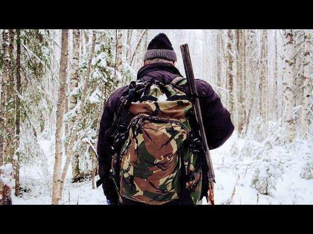 Сказочная тайга. 🌲 Поход в лес. ❄ Лесная жизнь. 🏕 Пролог | The forest hut. Camping in the woods
