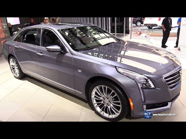 2018 Cadillac CT6 3.6 AWD - Exterior and Interior Walkaround - 2018 Detroit Auto Show