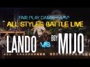 Lando Wilkins vs Boy Mijo | Semi Final | Fair Play Dance Camp: All Styles battle LIVE 2017