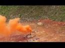 Цветной дым FPS009 Happy Family факел дымовой оранжевый