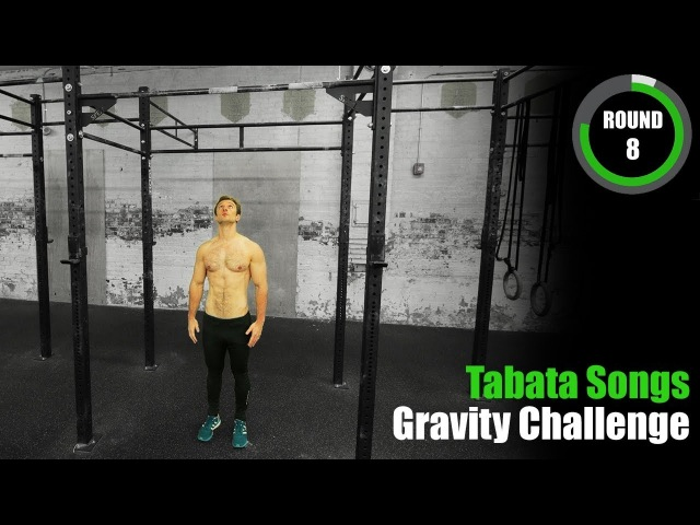 Tabata Gravity Challenge: Pull-Ups / Push-Ups with Adam Sandel (Pull-Up World Record Title Holder)