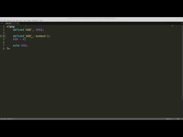 PHP. Условные конструкции и немножко про типы