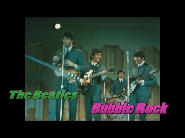 Beatles - This Boy - (Miami TV Rehearsal - 1964) - (Color Sepia) - Bubblerock - HD