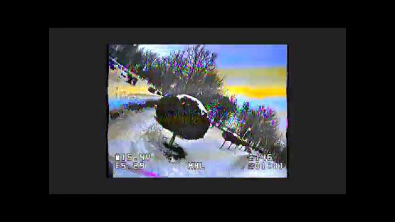 Пример записи видео (DVR) в очках SkyZone SKY003 (информация в описании)