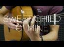 Guns N' Roses Sweet Child O' Mine Fingerstyle Guitar Cover
