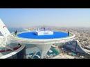 Boxing champion Anthony Joshua's fight in the sky in Dubai on the Burj Al Arab Helipad | Visit Dubai