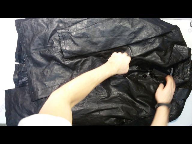 Jackets Leather... (10 kg) - микс из искуственной кожи Англия 1пак