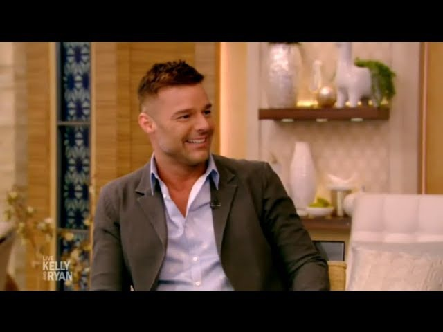 INTERVIEW Ricky Martin LIVE with Kelly and Ryan January 16 2018