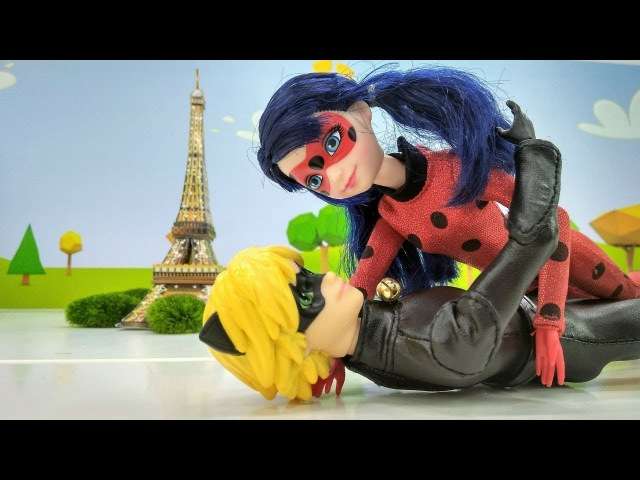 Spielspaß mit Barbie - Neue Episode LadyBug und Cat Noir - Video für Kinder auf Deutsch