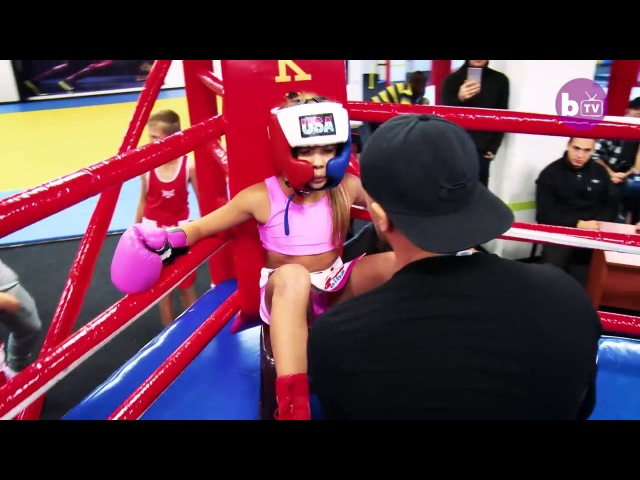 Kira Makogonenko .The Knockout Boxer Who's Only 9