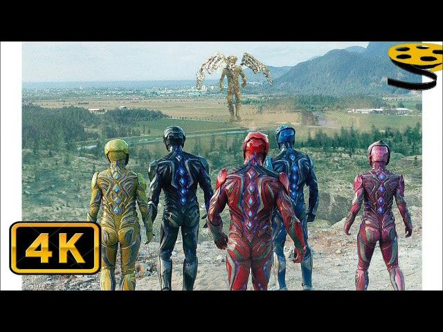 Могучие Рейнджеры против Голдар Могучие рейнджеры 2017 4K ULTRA HD