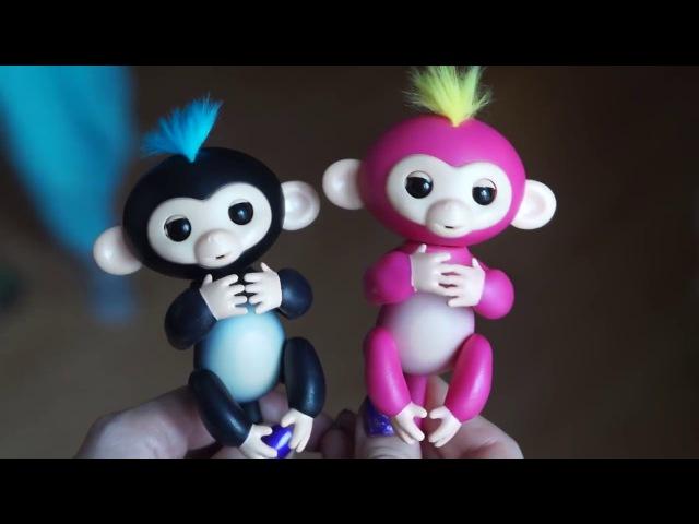 Интерактивная обезьянка Fingerlings отзыв покупателя