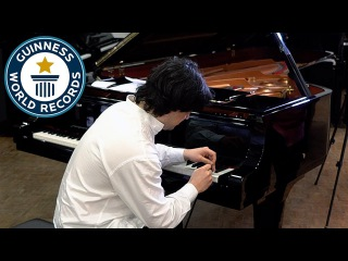 Fastest piano key hitting - Guinness World Records