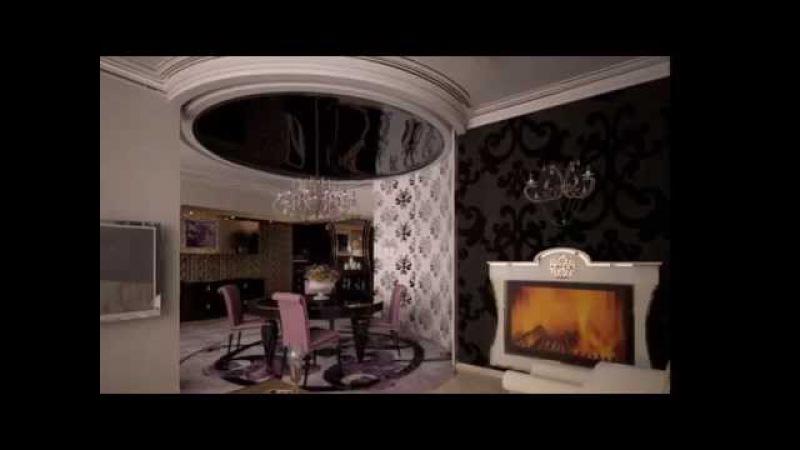 Дизайн интерьера. Арт деко. Дизайн проект интерьера.Аrt deco interiors.