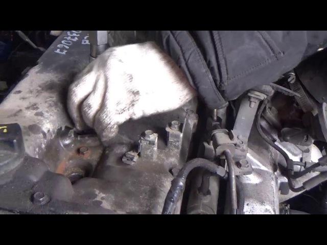 Проверка компрессии в двигателе D4CB 6037067 Starex CRDI 145 л.с