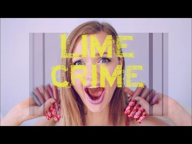 20 оттенков Lime Crime   Свотчи