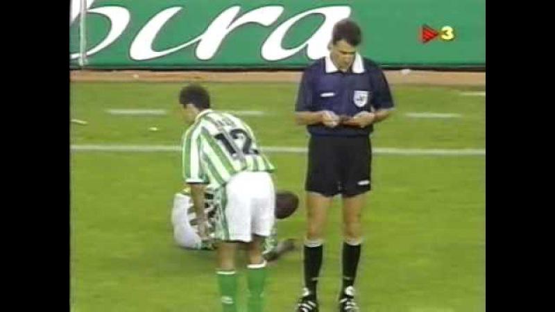 Season 1996/1997. FC Barcelona - Real Betis - 3:2 AET