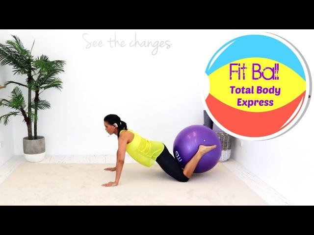 Linda Wooldridge - Total Body Stability Ball Workout | Тренировка для всего тела с фитболом