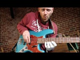 Epic BASS LICK (and the coolest soloing substitution)
