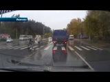 В Иванове водитель сбил двух школьниц на пешеходном переходе