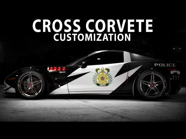 NFS 2015 - CROSS Chevrolet Corvette Z06 (Cinematic / Speed Art / Customization / PC)