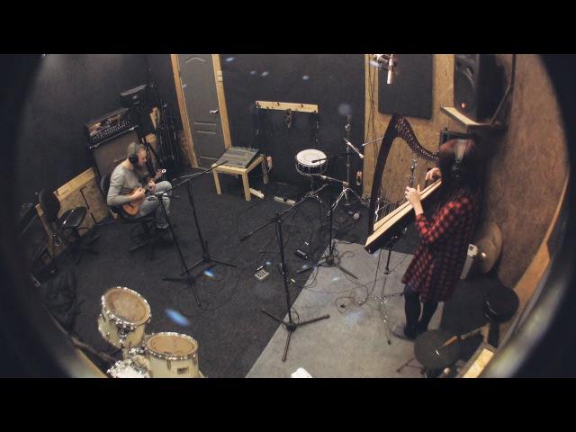 IWi Studio: ВО - Нож (live) запись арфы, укулеле, хора, вокала, перкуссии