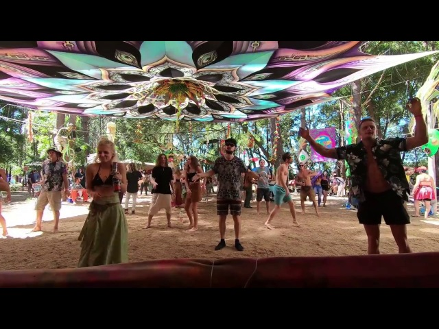 Freaky Forest Frenzy 2018 psytrance festival through the eye of a Gopro HERO 6