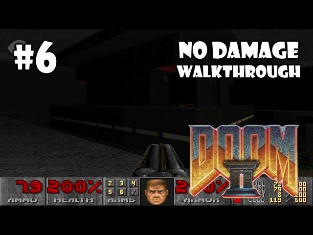 Doom II: Hell on Earth прохождение игры - Уровень 6: The Crusher (All Secrets No Damage)