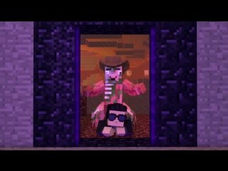 [v-s.mobi]опа гангам стайл в minecraft.mp4