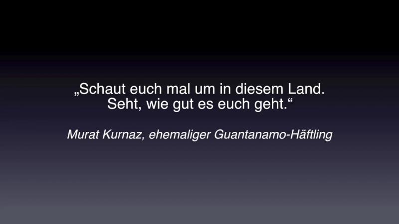 Ex Guantanamo Häftling Wo sind die Muslime in Deutschland die den Terror laut verurteilen