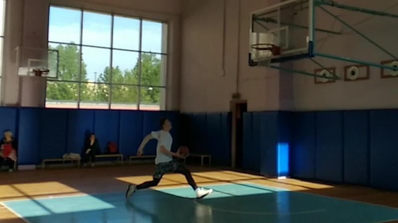 Second dunk(standard ring)