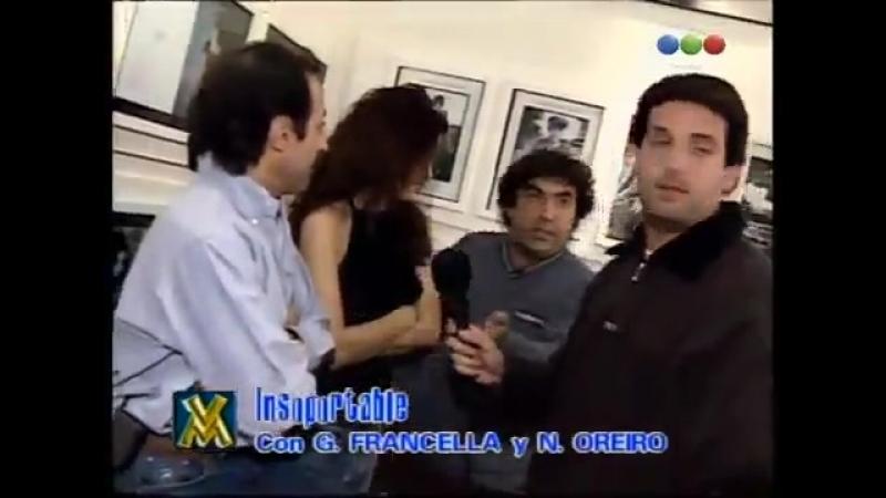 Natalia Oreiro . Junto a Francella en El Insoportable - Videomatch 1998