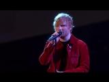 Ed Sheeran вживую исполнил песню Supermarket Flowers