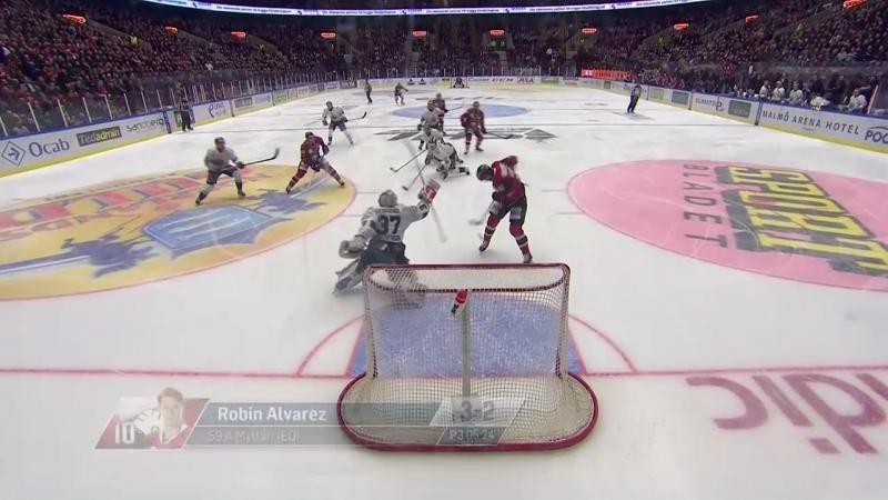Mäktig vändning när Frölunda utjämnade - SHL.se