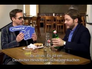 Роберт Дауни-младший в тапас-баре Даниэля, весна 2016 г., Берлин, Германия