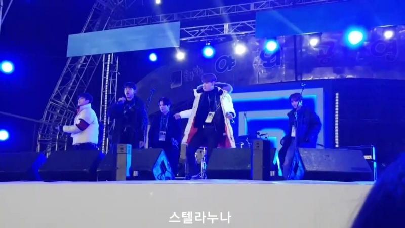 180217 비에이피 강릉 올림픽파크 라이브사이트 - 리허설 2 (BAP Olympic Park Live Site - Rehearsal 2)