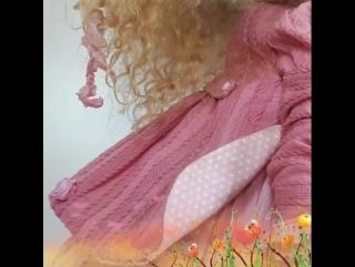 Видео куклы Элли .Текстиль .43 см
