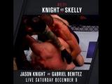 #UFCFresno KO of the Week: Jason Knight vs. Chas Skelly