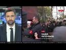 Киев. 22 октября, 2017 .Нацгвардия и полиция заблокировали автомобиль со звуковым оборудованием для акци