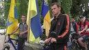 Авто і велопробіг місцями бойової слави у Вільнянську
