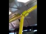 Протекает крыша в автобусе 21.11.2017 - Подслушано на дорогах Ростов-на-Дону