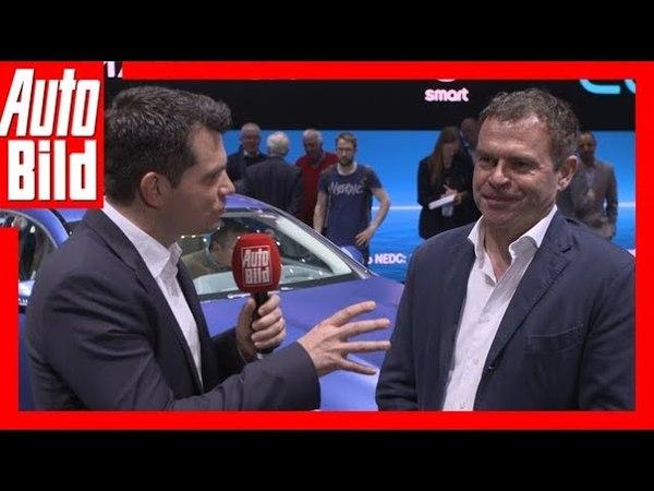 Interview Mercedes-AMG GT 4 (Genf 2018) Nachgefragt beim AMG-Chef Tobias Moers