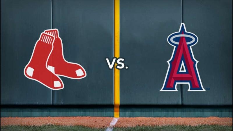 MLB. Boston Red Sox - Los Angeles Angels