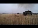 Ополченцы наносят удар из РСЗО «Град» по укропским позициям