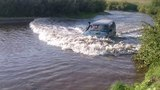 Лето 2016 река Кача Mitsubishi Challenger